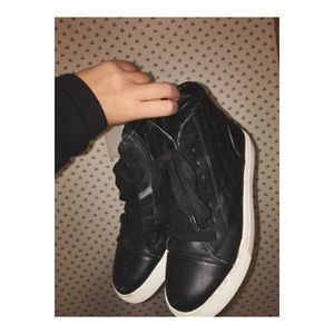 Vans Shoes - Steve Madden Leather Sneakers